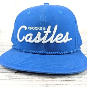 Crooks and castles snapback hat one size